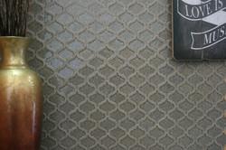 Arabesque Smoke Glass Mosaic