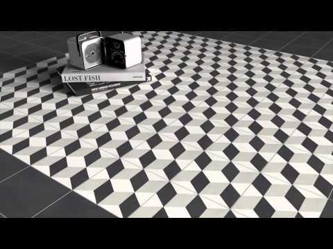 """Bati Orient Cement Tile, 8""""x8"""""""