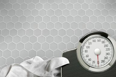 Cool Grey Matte Hex Mosaic