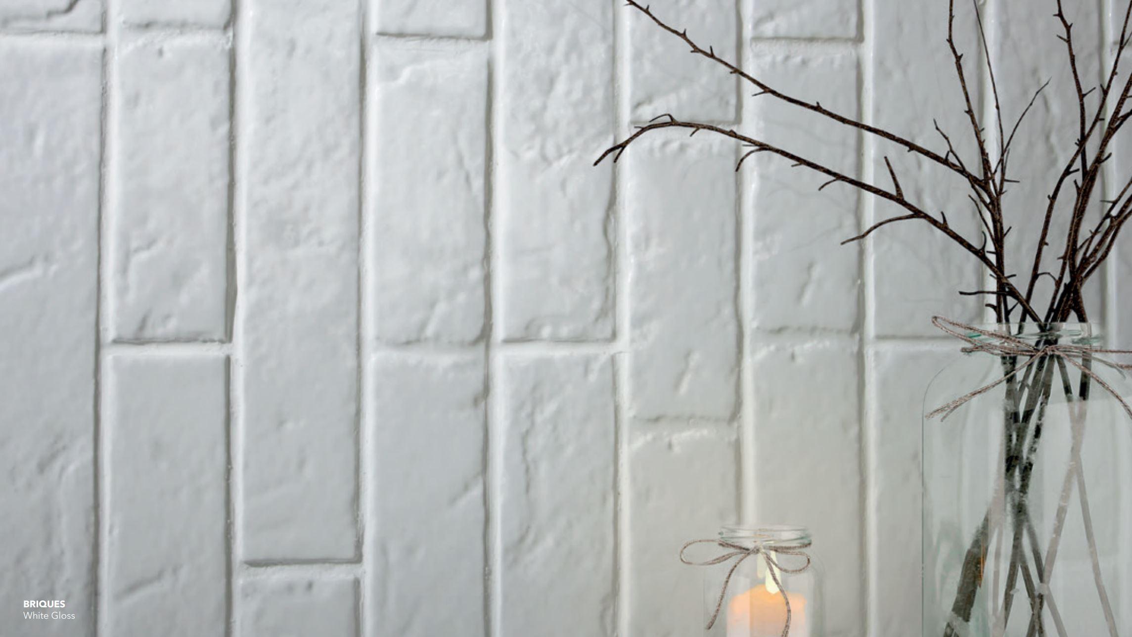 Briques White Gloss