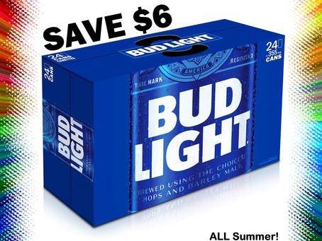 $6 OFF Bud Light