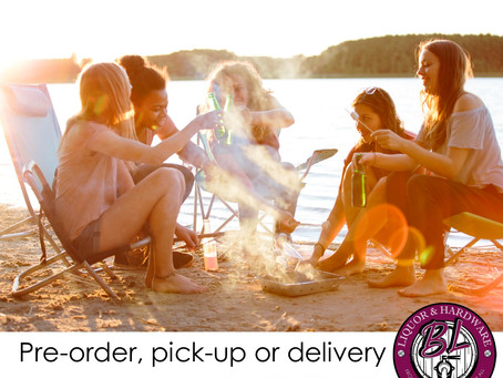 Pre-order, pick-up or delivery