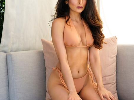 Demi Mann Actress Gorgeous Peach Bikini DEMI MANN, BRINGS HER ATHLETICISM AND DAREDEVIL PERSONALITY