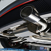 muffler and exhaust system installation