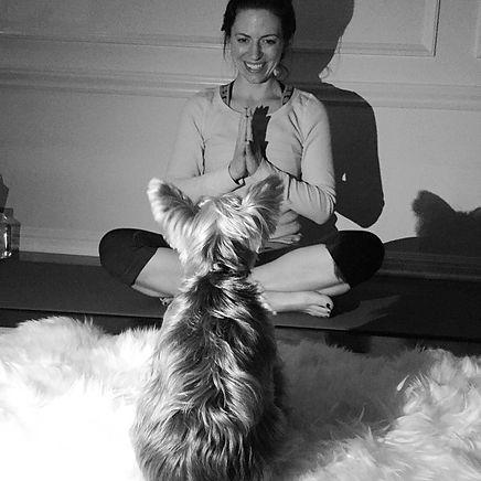 Instagram - Namaste Gigi 🙏🐶 #mondaynig