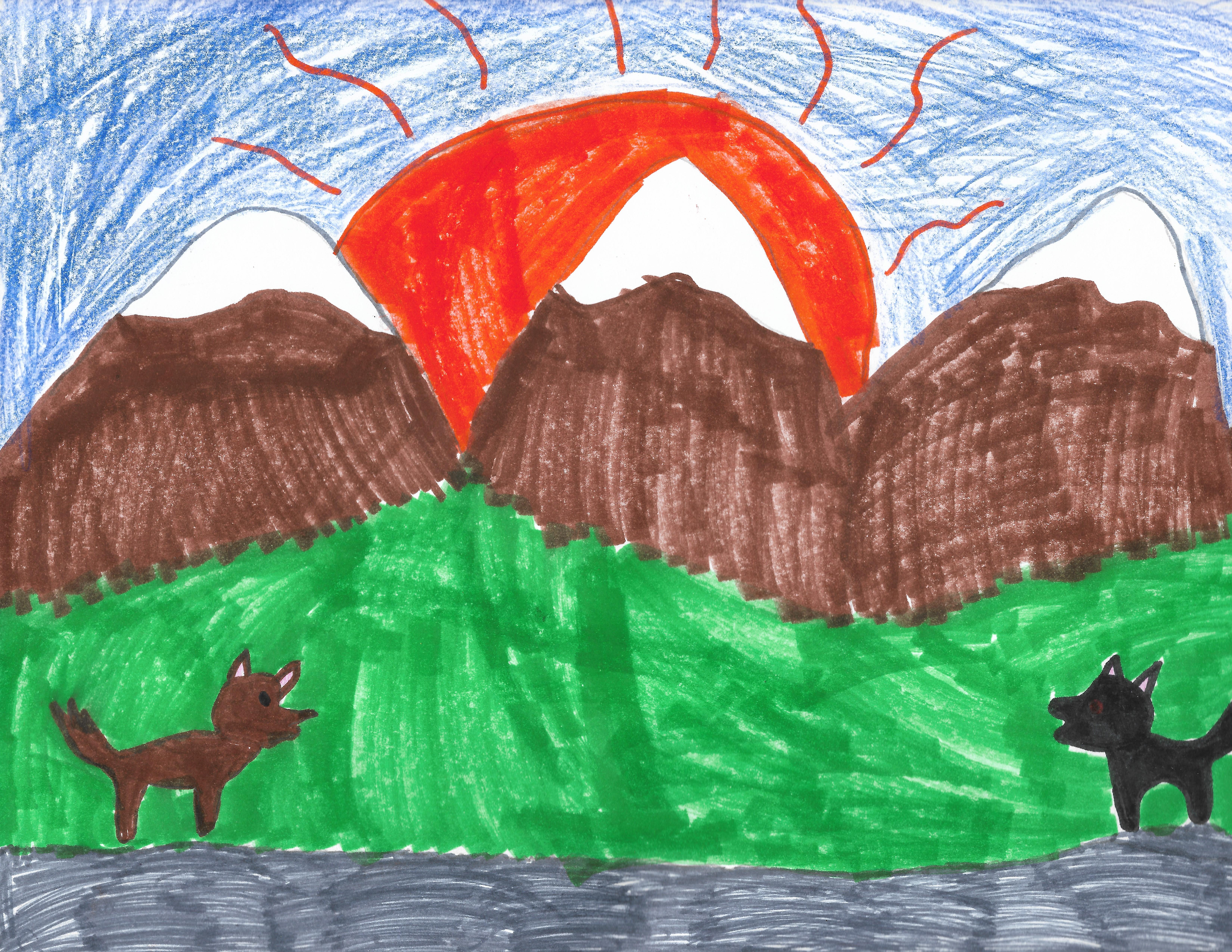 Siena H. - 3rd grade artist   Carl Cozier Elementary in Bellingham, Washington