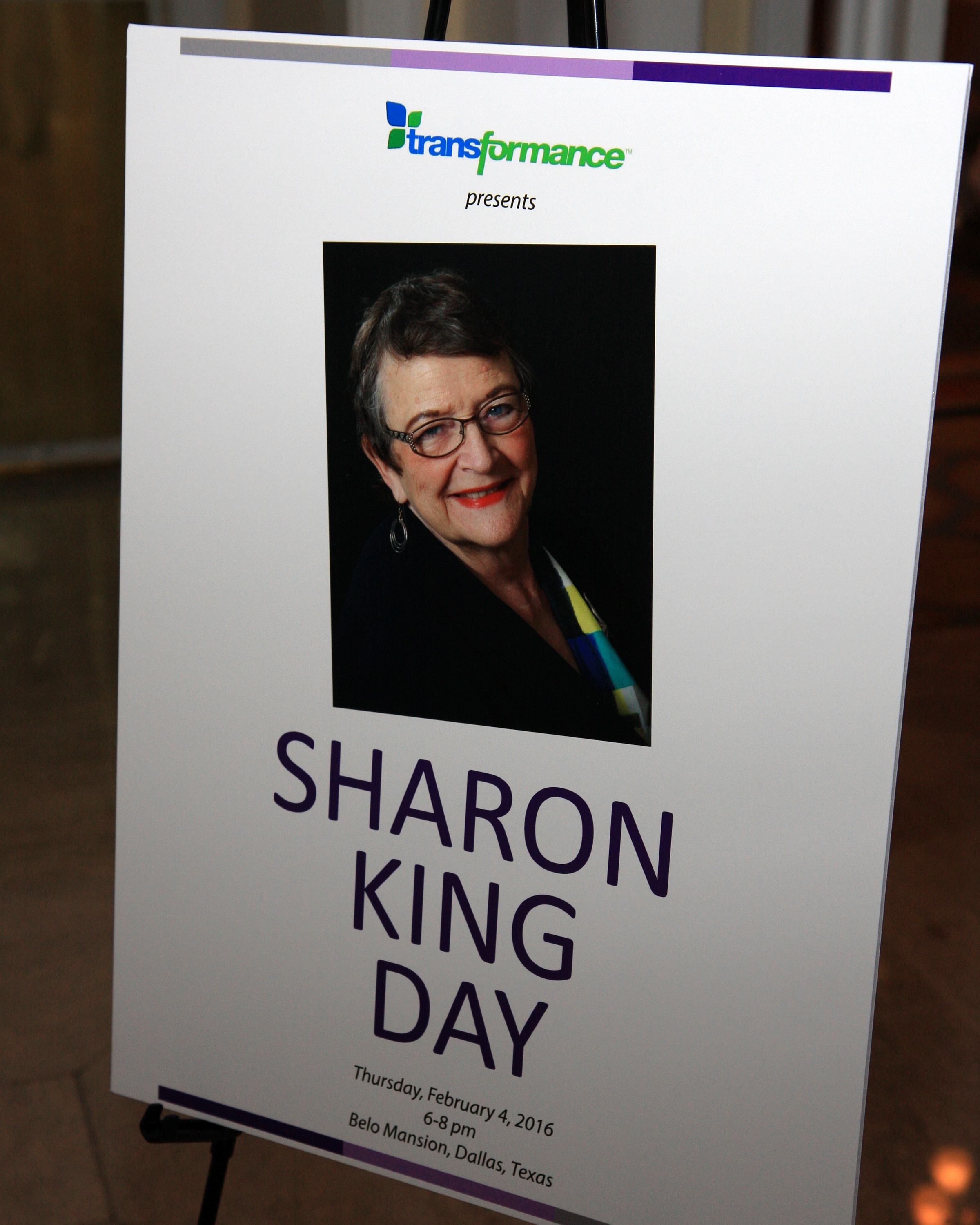 Sharon King Day 1