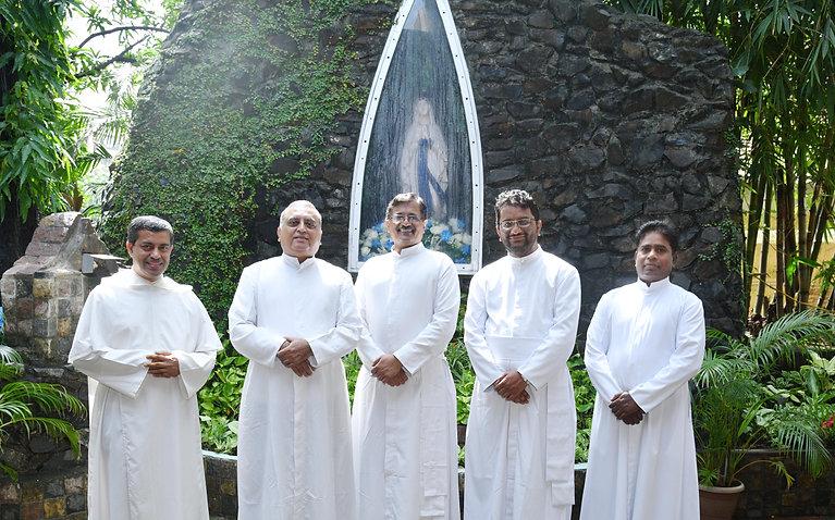 Parish Team Grotto2021.JPG