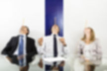 People misbehaving in a meeting