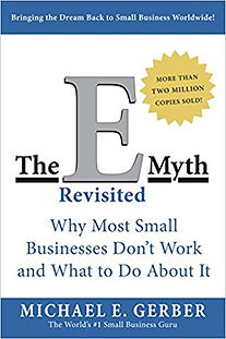 """Image of book 'The E-Myth revisited"""""""