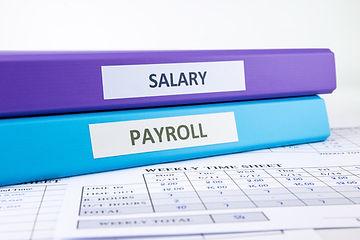 Salary and payroll files
