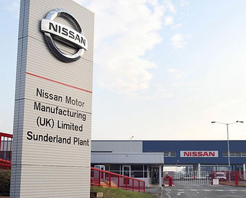 Nissan plant Sunderland