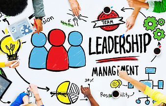 Leadrship and management graphic
