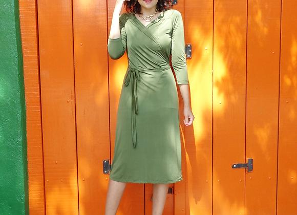 Vestido Cachecoer Verde Musgo