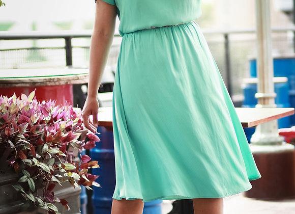 Vestido Julia Verde Menta