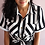 Thumbnail: Camisa Stripes Preto e Branco
