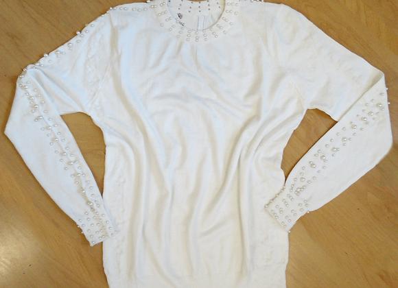 Suéter Tricot Pérola