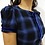 Thumbnail: Vestido Janete Xadrez Azul
