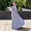 Thumbnail: Vestido Luiza Listra Azul
