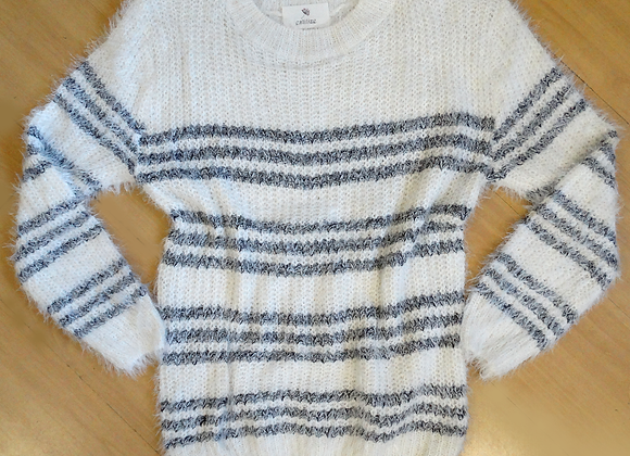 Sueter Tricot Basic listra