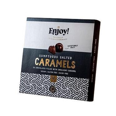 Enjoy! Organic Sumptuous Salted Caramels Box 16