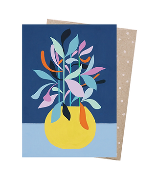 Earth Greetings Greeting Card - The Happy One