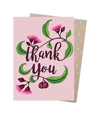 Earth Greetings Greeting Card - Thank you