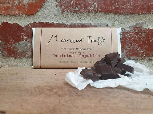 Monsieur Truffe 72% Dominican Republic 80g