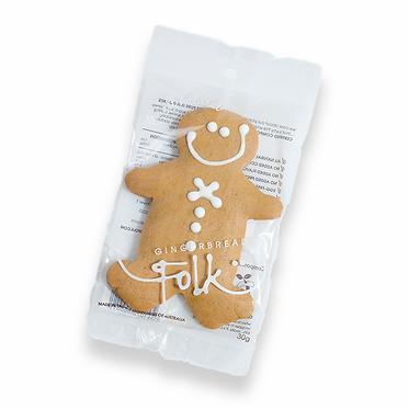 Gingerbread Folk Gingerbread Man 30g