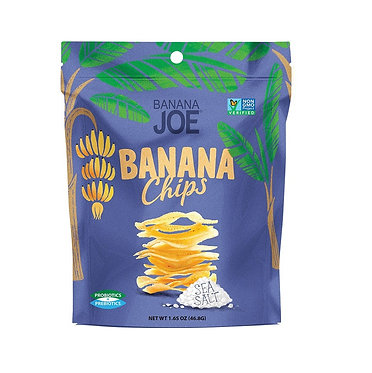 Banana Joe Banana Chips Sea Salt 46.8g