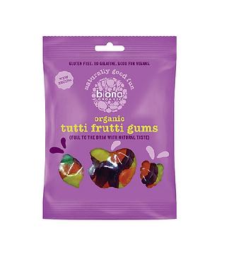 Biona Tutti Frutti Gums Organic 75g