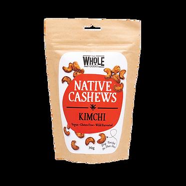 The Whole Foodies Native Cashews Kimchi 70g