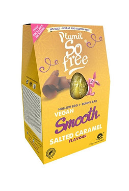 Plamil So Free Salted Caramel Chocolate Easter Egg with Bunny Bar 110g