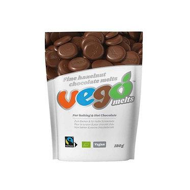 Vego Fine Hazelnut Chocolate Melts - 180g