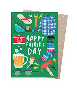 Earth Greetings Greeting Card - Dad Things