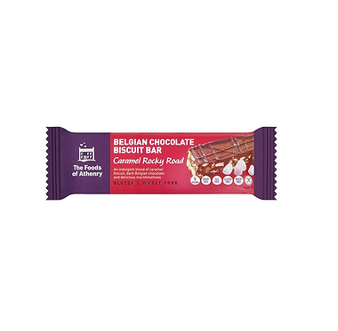 The Foods of Athenry Caramel Rocky Road Biscuit Bar