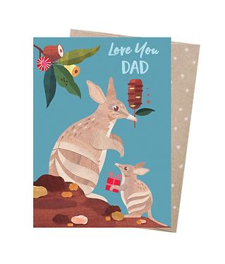 Earth Greetings Greeting Card - Bandicoot Dad
