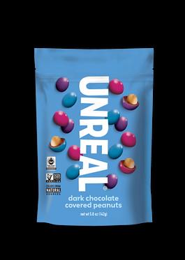 UnReal Dark Chocolate Peanut Gems 142g