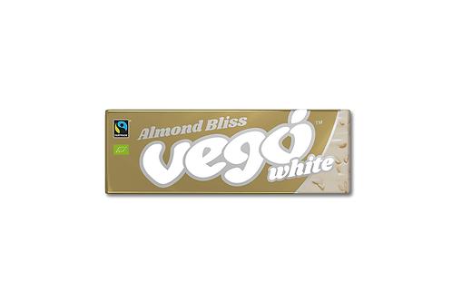 Vego White Chocolate Bar - Almond Bliss 50g