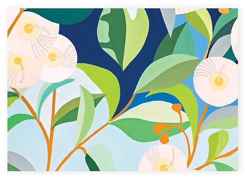 Earth Greetings Folded Wrapping Paper - Lemon-Scented Gum