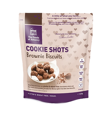 The Foods of Athenry Brownie Biscuit Cookie Shots