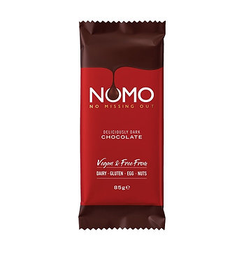 NoMo Dark Choc Bar 85g