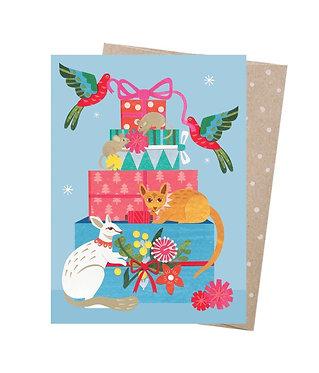 Earth Greetings Christmas Card - Christmas Presents