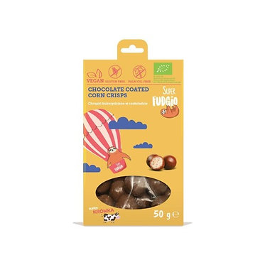 Megusto  Chocolate Coated Corn Crisps 50g