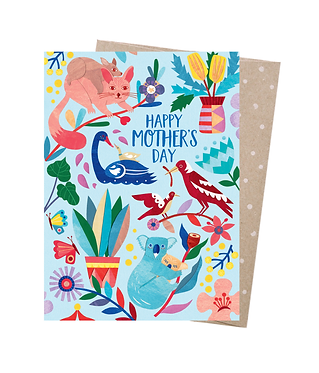 Earth Greetings Greeting Card - Mother Natures