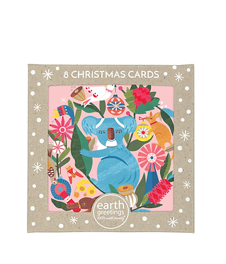 Earth Greetings Boxed Christmas Cards - Circle Of Friends