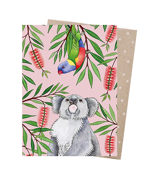 Earth Greetings Greeting Card - Outback Antics