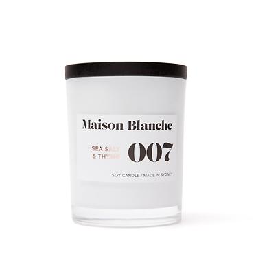 007 Sea Salt & Thyme / Medium Candle 200g