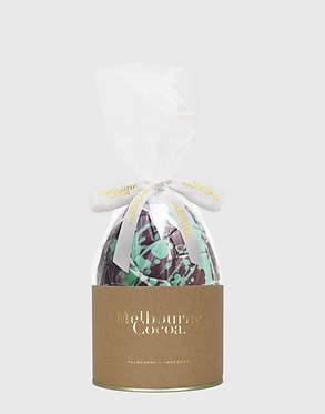 Melbourne Cocoa Mint Crisp Easter Egg 150g