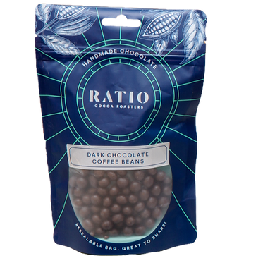 Ratio Cocoa Roasters Dark Chocolate Coffee Beans 200g